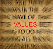 Focusing on your values